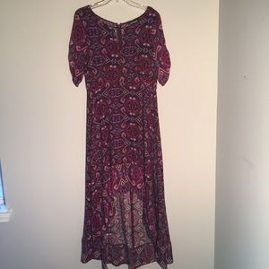 Express Hi-Low Maxi Dress Size M